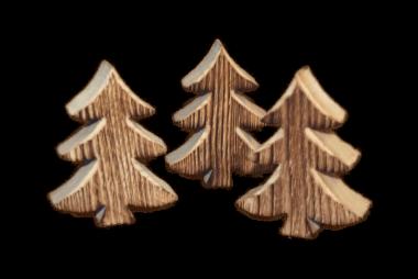Deko Tannenbäume 3er Pack
