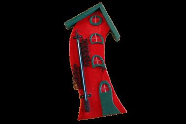 Außenthermometer Holz – groß