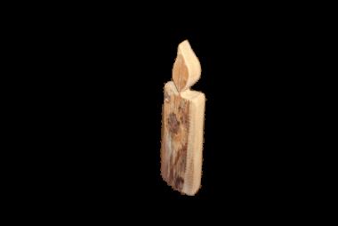 Dekokerzen Holz