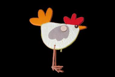 Dekoanhänger Huhn