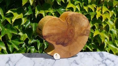 Holzherz groß - Gartendeko