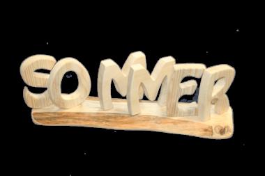"""Schriftzug """"Sommer"""" - Holz Deko"""